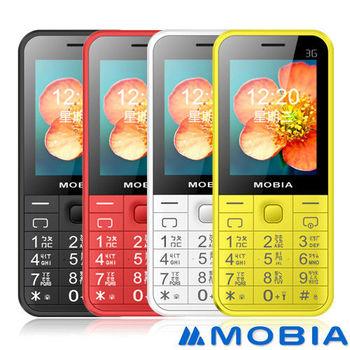 【MOBIA】M105 3G 直立式 老人/軍人手機(亞太4G/台灣之星可用-贈手機套)