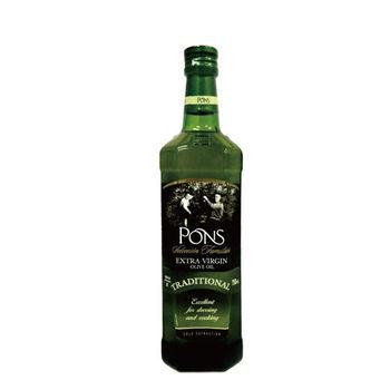 【PONS】西班牙原裝進口特級處女果香橄欖油750ML