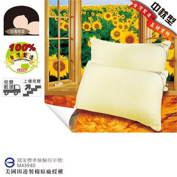 USLEEP矽絨羽樂活纖棉枕-1入