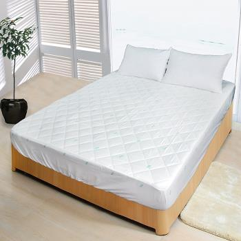 【Victoria】【剋菌寶】 防蟎 單人床包式保潔墊