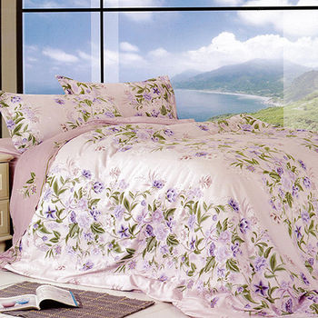 【Victoria】臻愛 雙人四件式天絲兩用被床包組