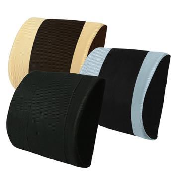 【源之氣】竹炭護腰墊/三色可選《辦公椅 汽車皆適用》RM-9406
