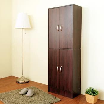 【Hopma】現代四門十層鞋櫃-二色可選