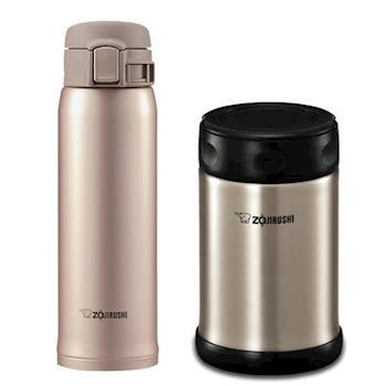 【象印】不鏽鋼保溫杯燜燒罐組 SM-SA48+SW-EAE50