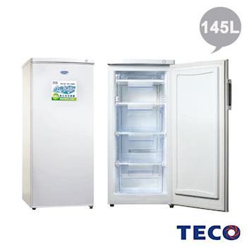 TECO東元 145公升單門直立式冷凍櫃 (RL145SW)