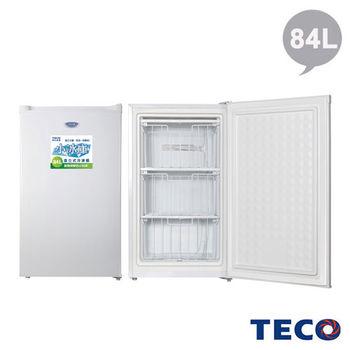 TECO東元 84公升單門直立式冷凍櫃 (RL84SW)