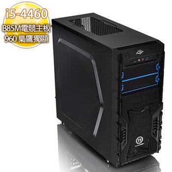 華碩平台【紅蓮戰紋】i5四核 B85M電競主板 960 2G 超強獨顯 SSD 120G英雄聯盟機