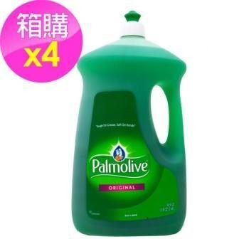 【美國 Palmolive】棕欖濃縮洗碗精/4入箱購(90oz/2660ml*4)