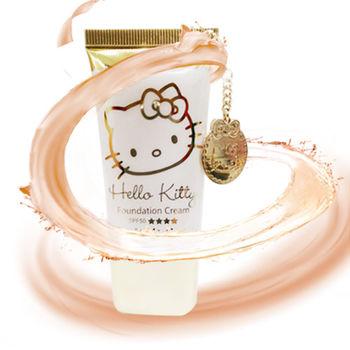 【iBV.18】Hello Kitty 滋潤調膚粉底乳-自然膚(HK02001)