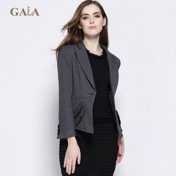 【GAIA精品】歐美明星款時尚修身西裝外套