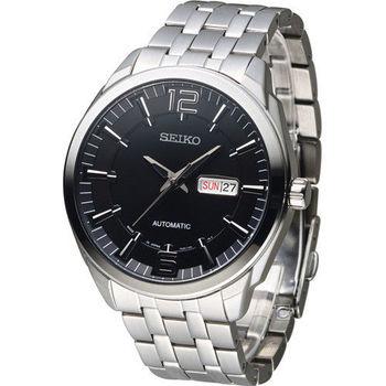 SEIKO 精工 SPIRIT 英倫紳士機械腕錶 7S26-04H0D SNKN47J1 黑