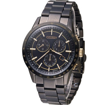 星辰 CITIZEN Eco-Drive 雅痞都會時尚腕錶 BL5495-56F