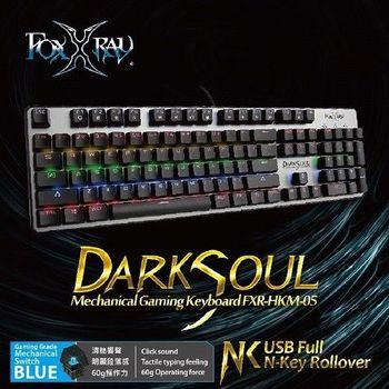 FOXXRAY 闇魂戰狐機械電競鍵盤【青軸】FXR-HKM-05
