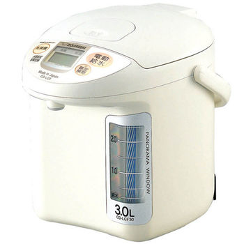 加碼送【象印】3公升寬廣視窗3段定溫電動熱水瓶 CD-LGF30