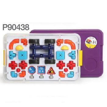 【EDTOY 旋轉磁力積木】小小達文西H款(紫) ACT06052