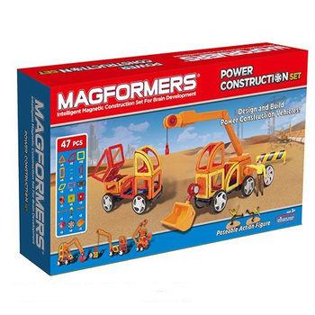 【Magformers 磁性建構片】工程組47pcs ACT05887