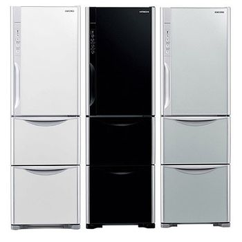 HITACHI 日立變頻節能三門冰箱 325L 型號 RG36WS 琉璃瓷GS(琉璃瓷)/ 琉璃黑GBK(琉璃黑)