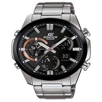 CASIO EDIFICE 勇者戰神雙壁傳說運動時尚限量腕錶-黑框-ERA-500DB-1A