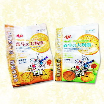 AJI養生大判餅(燕麥.亞麻籽)6包入