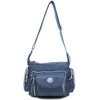 COUNT DUCK 美系悠活輕量多口袋側背包 ^#45 CD ^#45 010藍色