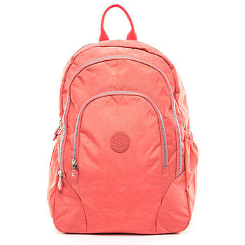 COUNT DUCK 美系悠活輕量多收納機能型3way後背包-CD-009-粉橘色