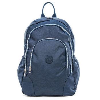 COUNT DUCK 美系悠活輕量多收納機能型3way後背包-CD-009-藍色