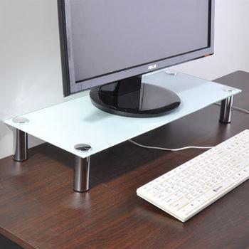 韋伯防爆強化玻璃螢幕桌上架(2色可選)