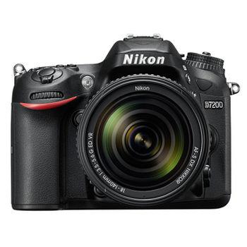 [64G+原電組] Nikon D7200 18-140mm KIT(公司貨)