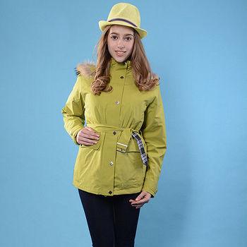 【JORDON】GORE-TEX 防水透氣 + 羽絨 女款 兩件式外套(1088)