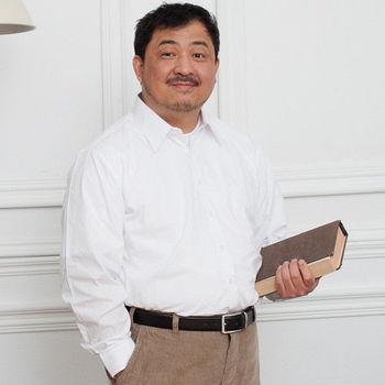 【Sexii】超級大尺碼【潔淨白】紳士長袖襯衫 _2件組