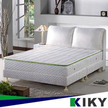 KIKY 二代法式森呼吸養身備長炭獨立筒床墊-單人3尺