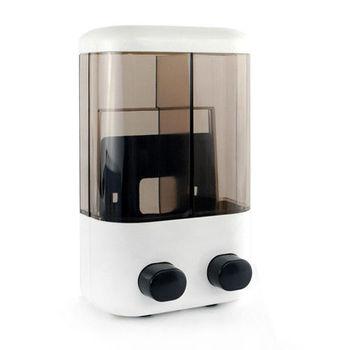 雙孔洗手給皂機 手壓式給皂機