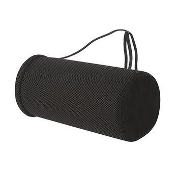 【源之氣】竹炭圓柱可調記憶靠墊/高度可調 /腰椎釋壓 RM-9453