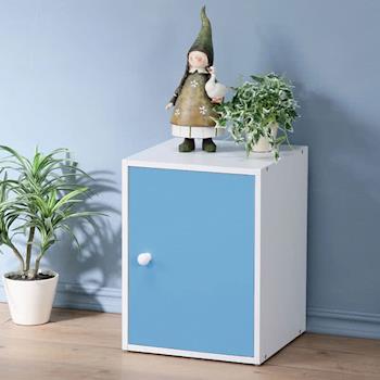 Homelike 現代風單門置物櫃(三色)