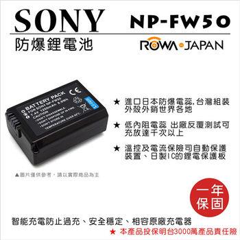 ROWA 樂華 For Sony NP-FW50 FW50 電池
