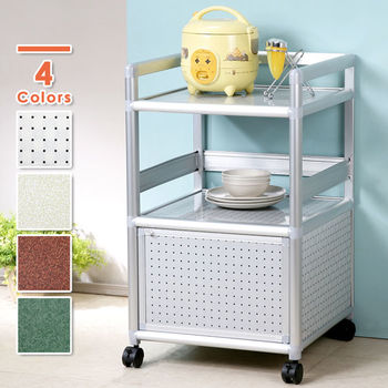 Homelike 鋁合金1.5尺單門收納櫃(四色任選)