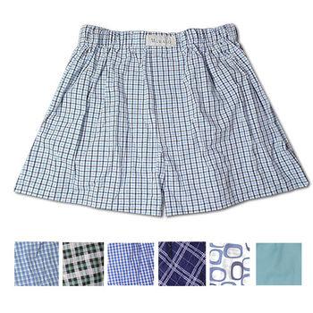【MURANO】台製精梳棉平口褲  M 號 (隨機不挑色)