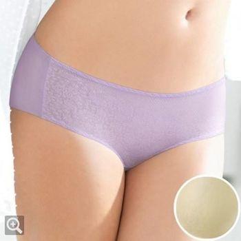 黛安芬-超彈力魔術胸罩搭配平口褲 M-EL (黃)