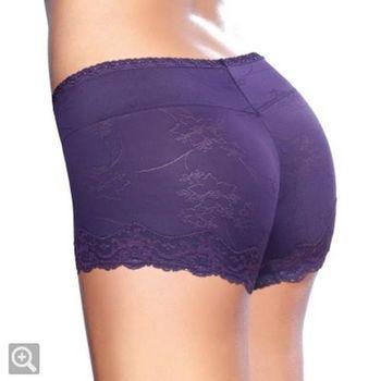 黛安芬-STRETTY逆齡收腹勻體高腰褲M-EL(桔梗紫)