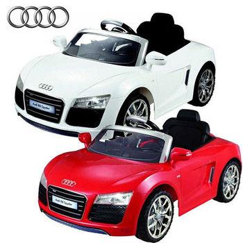 【KC品牌授權車系列】奧迪 R8 Spyder 兒童遙控電動車 (共兩款顏色可選擇) 7995