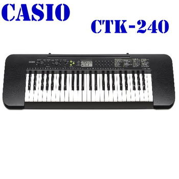 卡西歐49標準琴鍵電子琴CTK-240