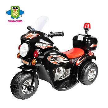 親親【ChingChing】- 皇家警察電動摩托車(白色、黑色)
