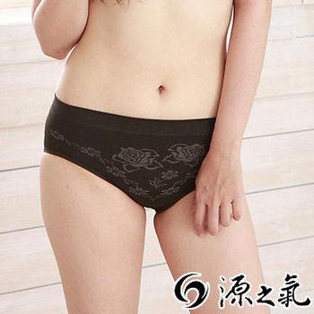 【源之氣】極品竹炭無縫女低腰三角褲/黑(超值3入) RM-20031