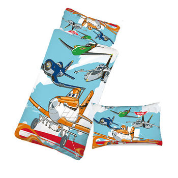 【Sunnybaby生活館】- 卡通造型幼教兒童睡袋-飛機總動員