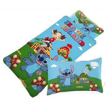 【Sunnybaby生活館】- 卡通造型幼教兒童睡袋-史迪奇