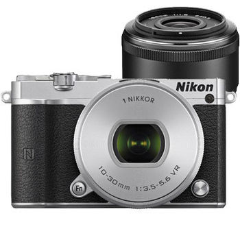 [64G電池組] Nikon 1 J5 10-30mm + 18.5mm 雙鏡組 (公司貨)-@