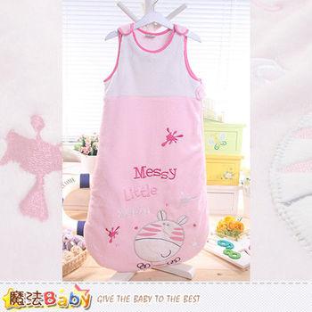 魔法Baby~柔舒雪絨加厚鋪棉寶寶防踢睡袋 嬰幼兒用品~k43731