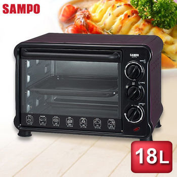 【SAMPO聲寶】18公升電烤箱 KZ-PU18
