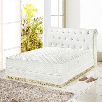 睡尚寶 飯店用3M防潑水蜂巢式獨立筒床墊-雙人加大