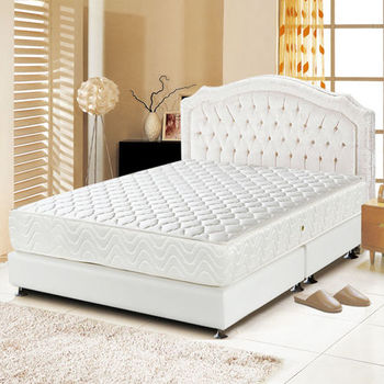 睡尚寶 乳膠3M防潑水蜂巢式獨立筒床墊-雙人5尺